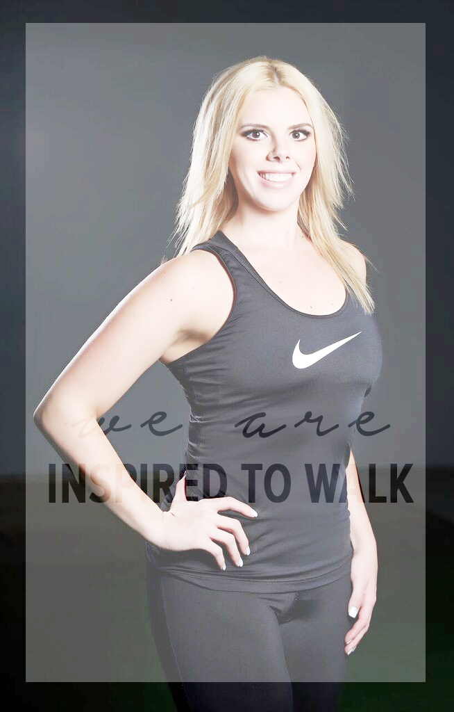 inspired to walk